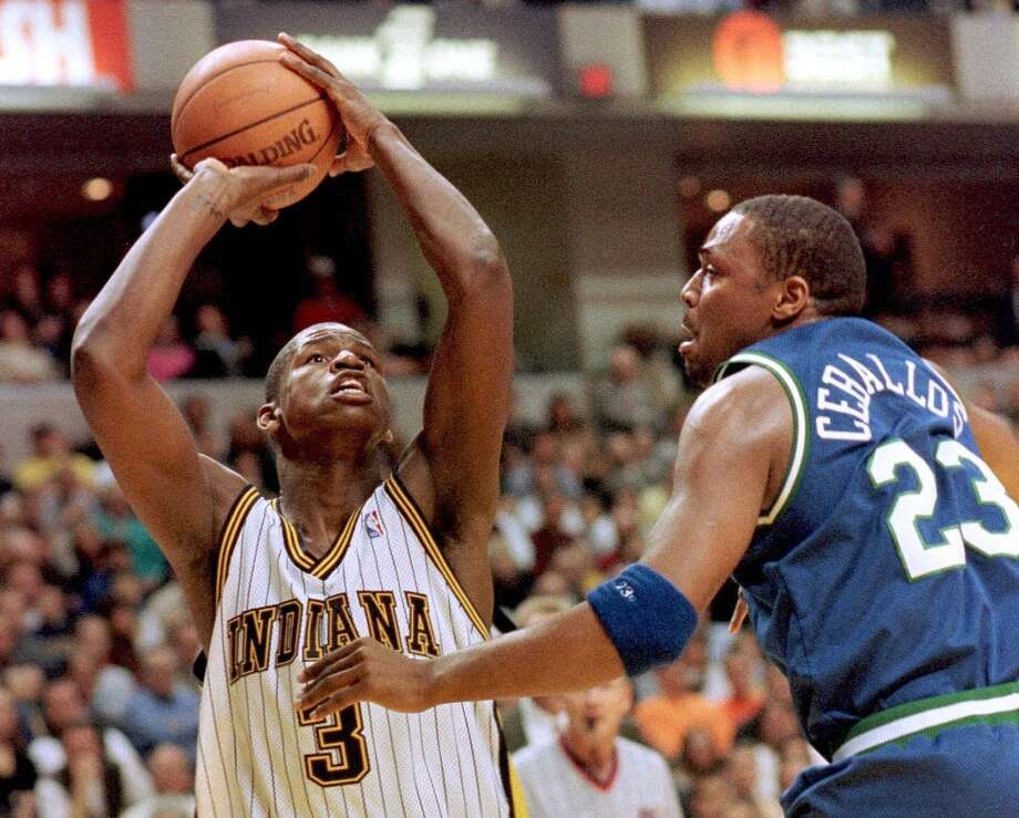 1998- Indiana – Al Harrington (New Jersey- high school)Harrington just finished his 16th year in the NBA, averaging 6.6 points per game for Washington last season. Photo: John Ruthroff, AFP/Getty Images