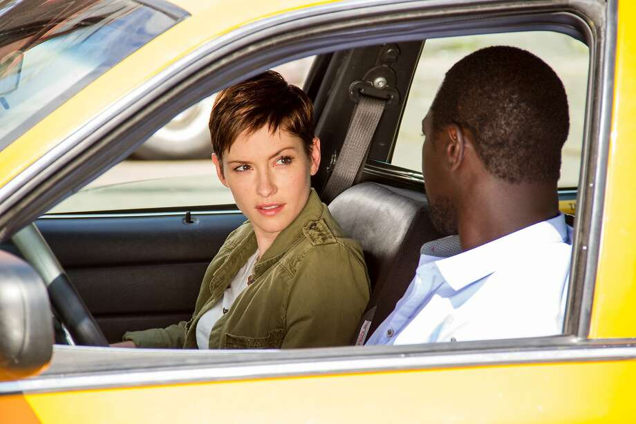 "Chyler Leigh plays a detective and Jacky Ido a cabdriver in NBC's ridiculous new drama ""Taxi Brooklyn,"" based on a popular French film from the 1990s. Photo: Linda Kallerus, NBC"
