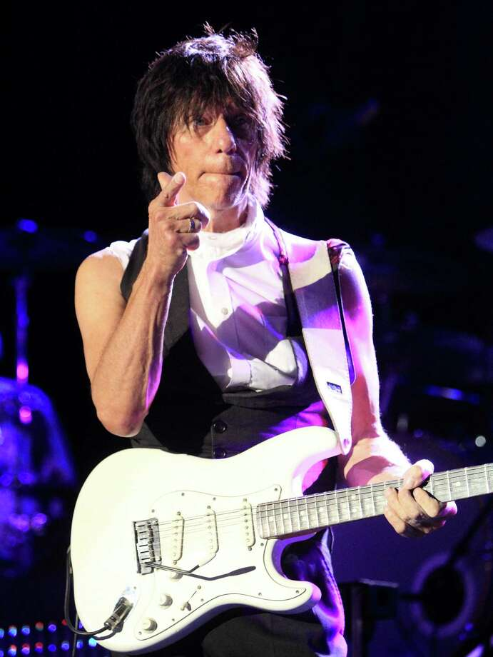 Guitarist Jeff Beck performs in concert at The Sands Event Center on Sunday, Oct. 6, 2013, in Bethlehem, Pa.  (Photo by Owen Sweeney/Invision/AP) ORG XMIT: PAOS112 Photo: Owen Sweeney / Invision