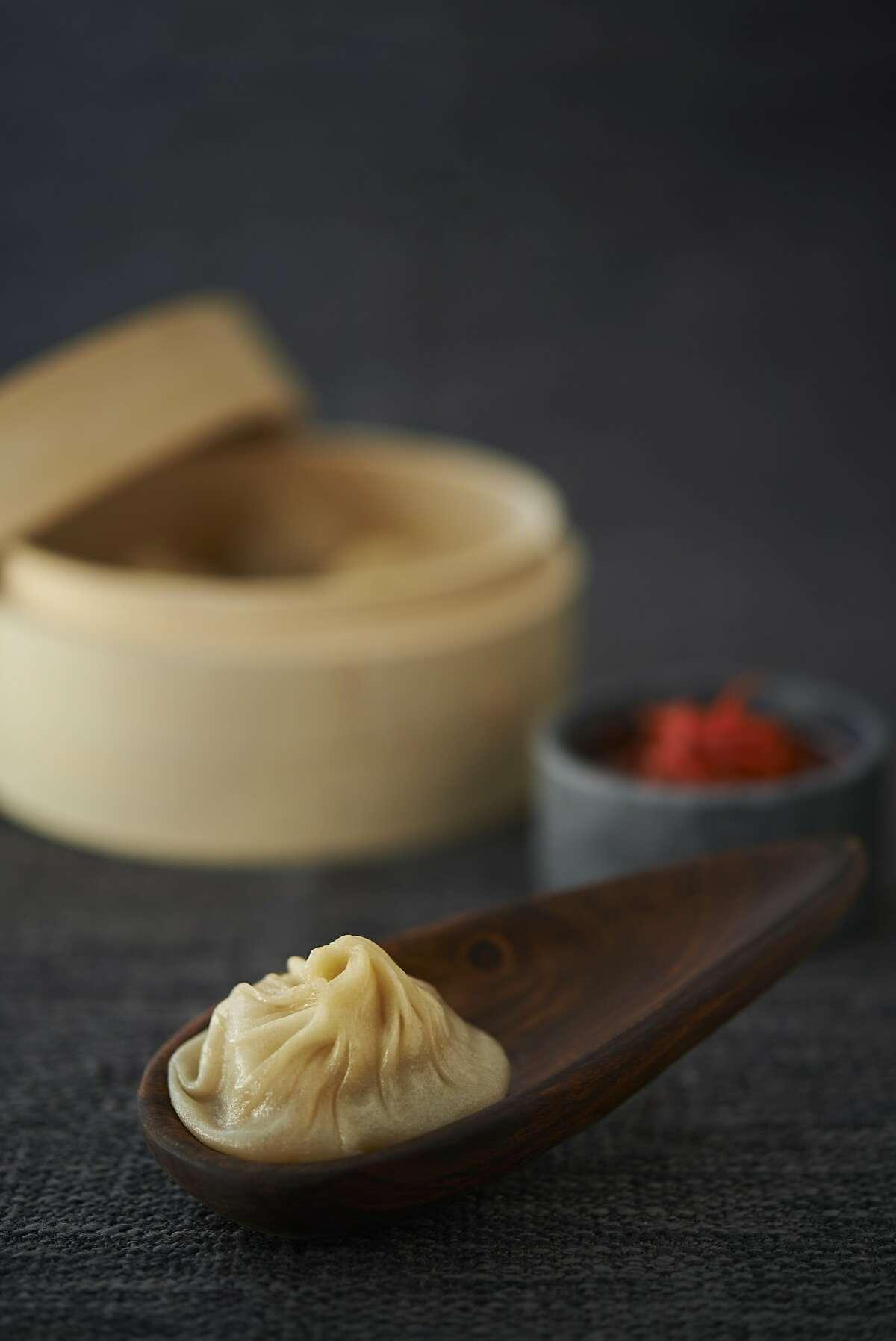 Soup dumplings from Yank Sing.