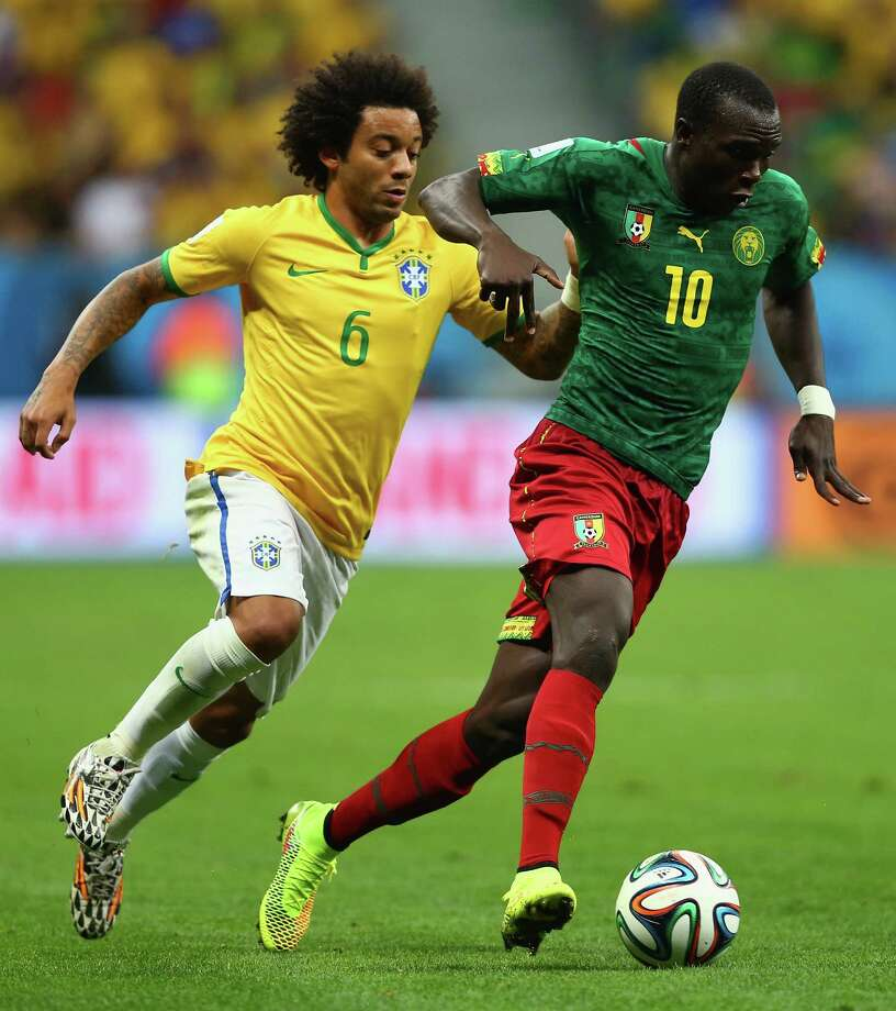 June 23  Brazil 4, Cameroon 1 Photo: Clive Brunskill, Getty Images / 2014 Getty Images
