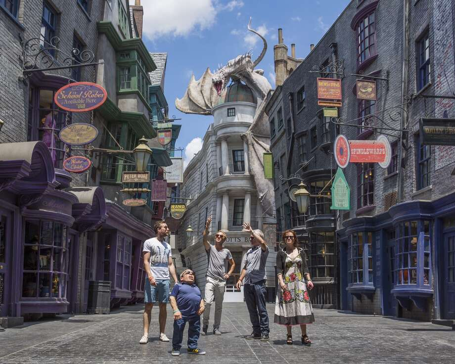 The Wizarding World of Harry Potter - Diagon Alley Photo: Handout, Getty Images / 2014 Universal Orlando Resort