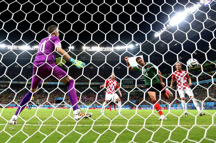June 23Mexico 3, Croatia 1 Photo: Robert Cianflone, Getty Images / 2014 Getty Images