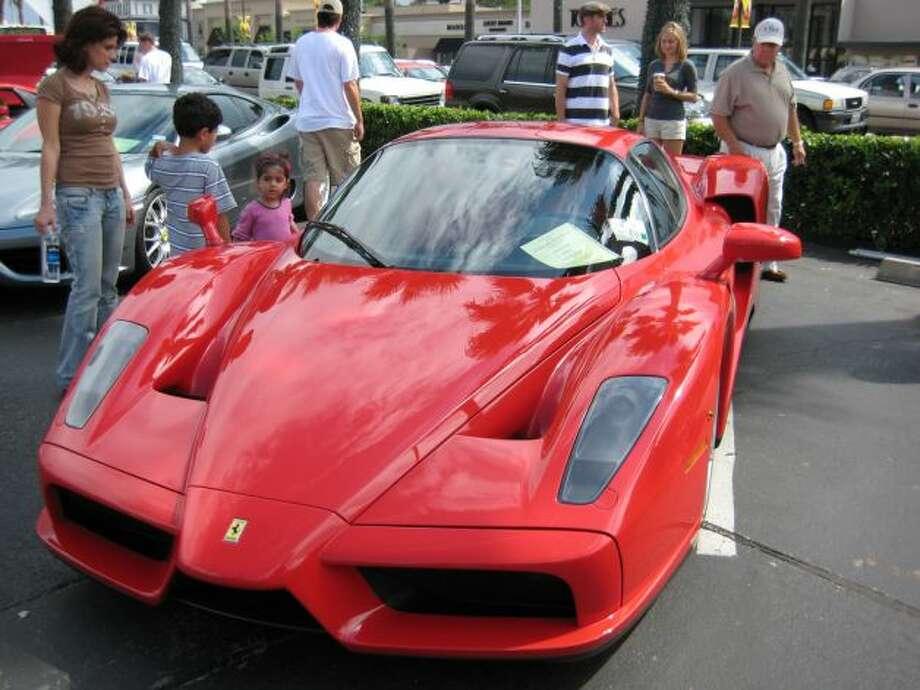 2003 Ferrari Enzo Photo: X, Stamford Advocate File / Stamford Advocate contributed