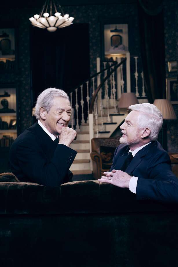 "Ian McKellen as Freddie and Derek Jacobi as Stuart in, ""Vicious Freddie and Stuart."" Photo: PBS"