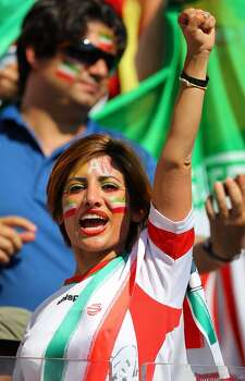 BELO HORIZONTE, BRAZIL - JUNE 21: Iran fan during the 2014 FIFA World Cup Brazil Group F match between Argentina and Iran at Estadio Mineirao on June 21, 2014 in Belo Horizonte, Brazil. (Photo by Amin Mohammad Jamali/Getty Images) Photo: Getty Images