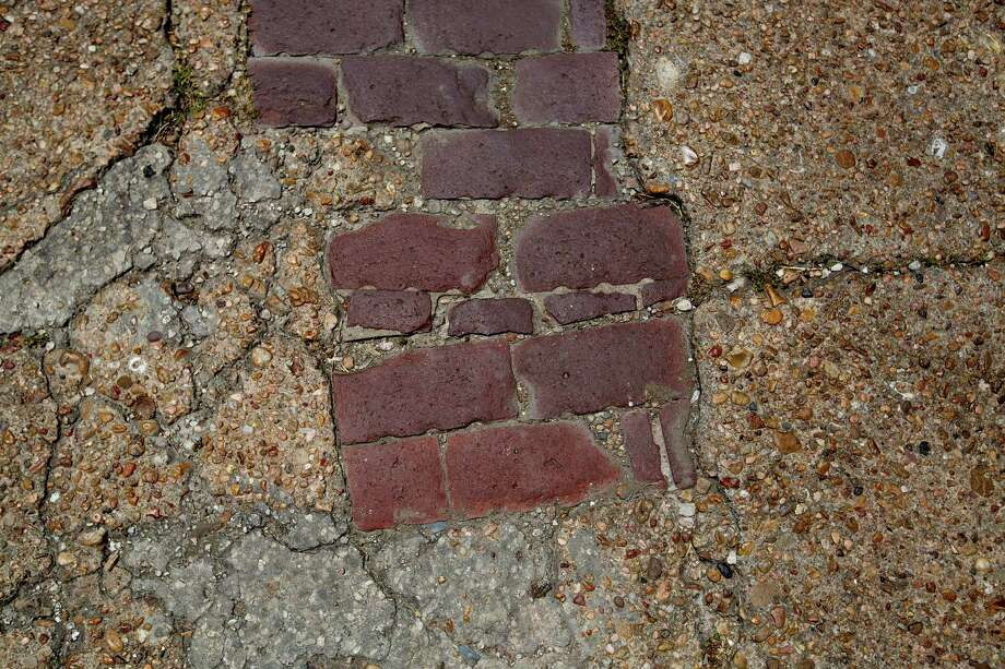 Paved brick near the corner of  Andrews at Wilson Streets in the Fourth Ward Thursday, June 19, 2014, in Houston. Photo: Johnny Hanson, Houston Chronicle / © 2014  Houston Chronicle