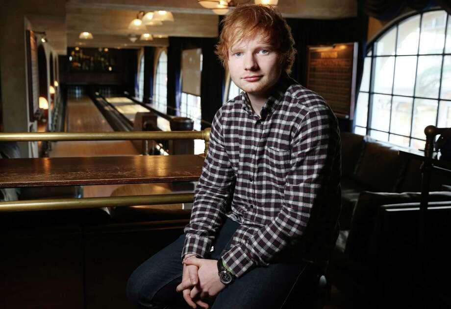 Ed Sheeran Photo: Matt Sayles / Matt Sayles / Invision 2014 / Invision