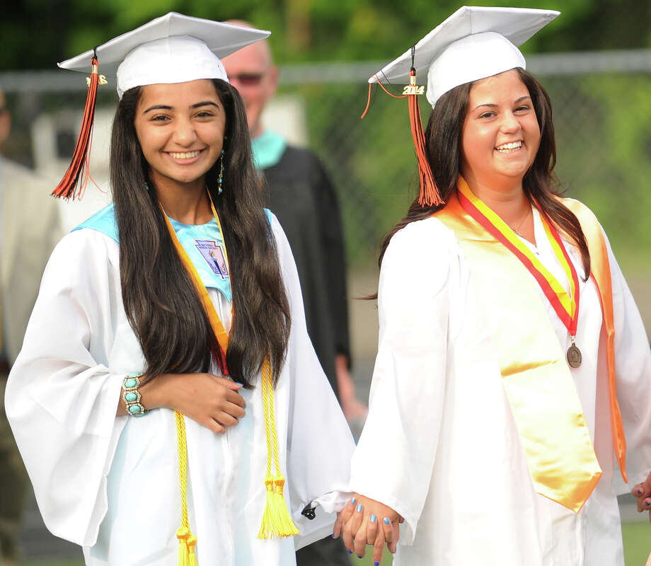 The Shelton High School Graduation in Shelton, Conn. on Monday, June 23, 2014. Photo: Brian A. Pounds / Connecticut Post