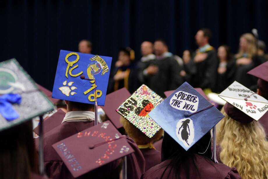 Bethel High Schools Commencement Ceremony took place at Western Connecticut State University in the O'Neill Center on Monday June 23, 2014. Photo: Lisa Weir / The News-Times Freelance