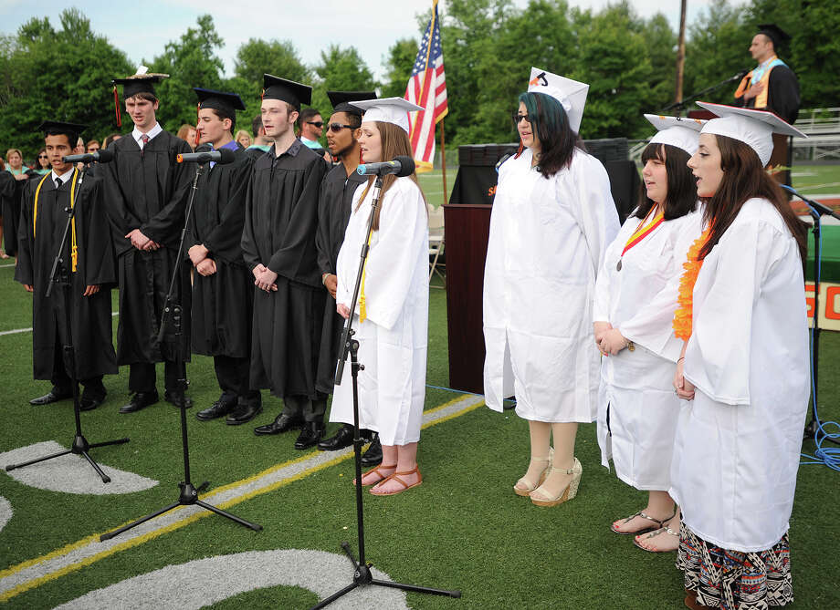 The Shelton High School Graduation in Shelton, Conn. on Monday, June 23, 2014. Photo: Brian A. Pounds / Connecticut Post