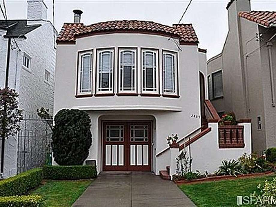 2459 14th Avenue sold in March for $1.45 million, 26% over its asking price. Photo: SFARMLS