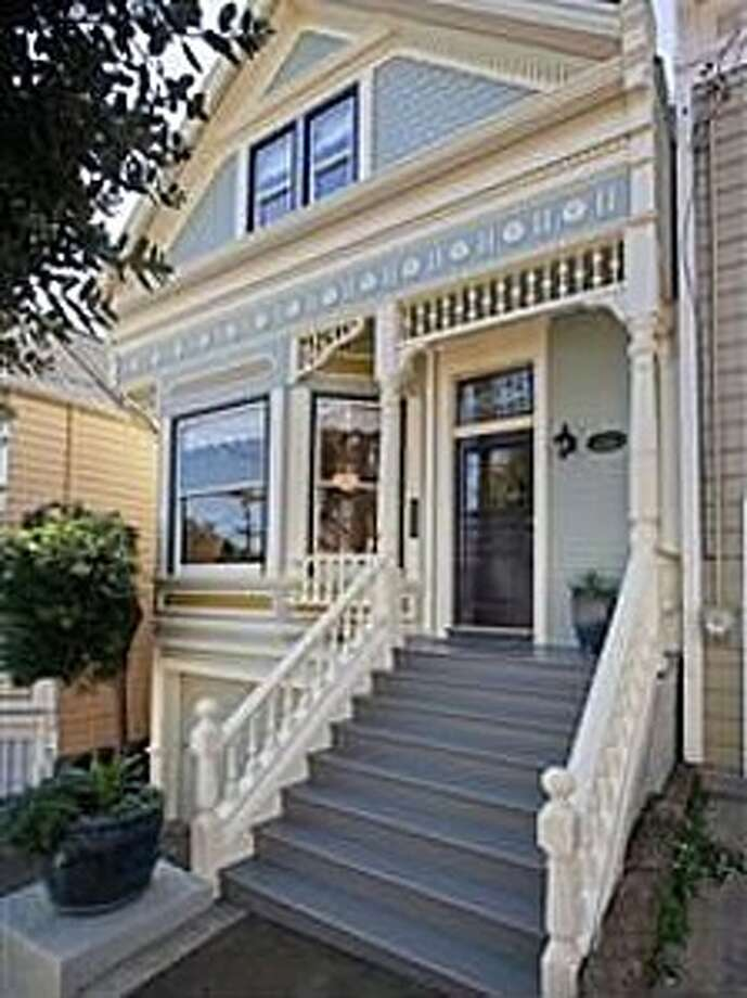 This 2,200-square-foot Victorian in Noe Valley sold for $2.9 million in April. Photo: SFARMLS