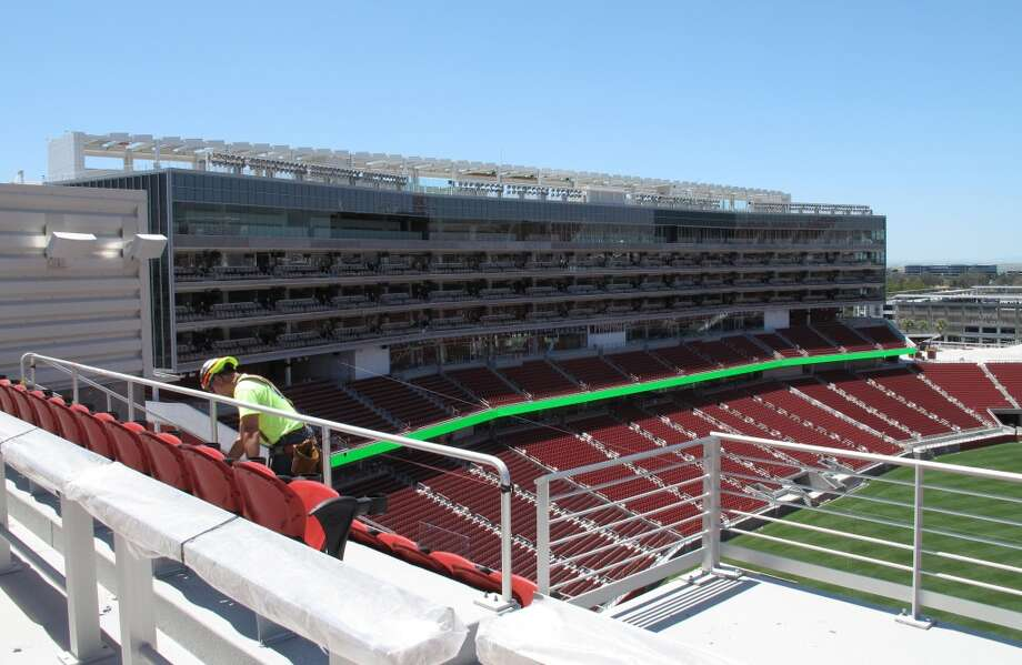 The 49ers' new stadium in Santa Clara is shown on June 17, 2014. Photo: Peter Hartlaub, The Chronicle