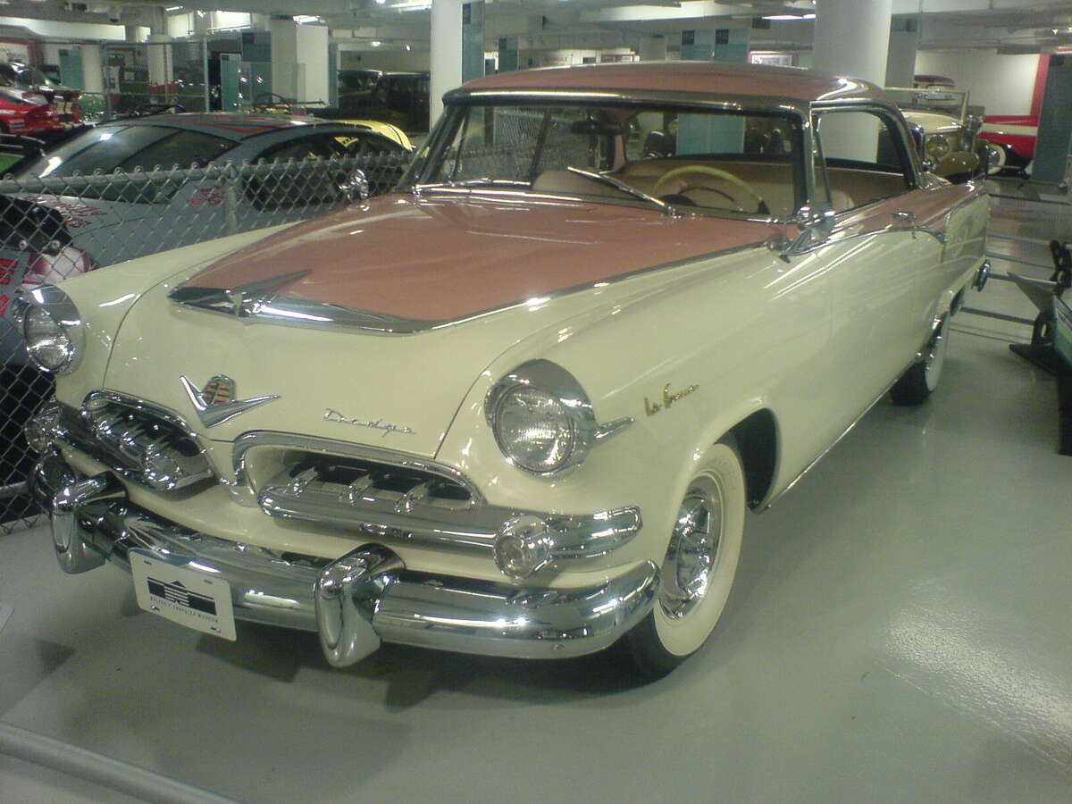 50.1955 Dodge La Femme -- The car was only produced for two years. After that, Dodge decided the pink trim had to go.(Photo:Dyno Tested, Wikipedia)