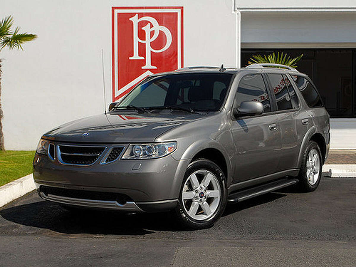 49. 2006 Saab 9-7X -- This is really a rebranded Chevy Trailblazer, but it lacks style, power and any design focus.(Photo: Park Place LTD)