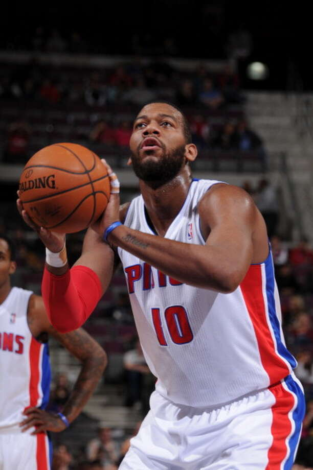 Greg Monroe Power forward Age: 23 Status: Restricted Photo: Allen Einstein, NBAE/Getty Images / 2014 NBAE