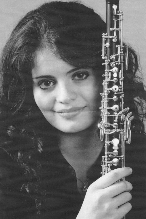 Julia Marie DeRosa, of New Canaan, an oboist representing the Chautauqua, N.Y., Chapter, won the National Society of Arts and Letters first place prize of $10,000 in the Woodwind Competition. Photo: Contributed Photo, Contributed / New Canaan News Contributed