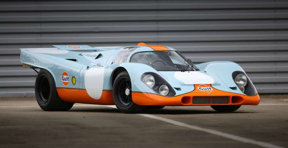 The Porsche made famous by Steve McQueen in 'Le Mans' hits the auction block this summer. Click through to check out the other famous movie cars that have been auctioned off for big bucks. Photo: Mathieu Heurtault, Courtesy Of Gooding And Company