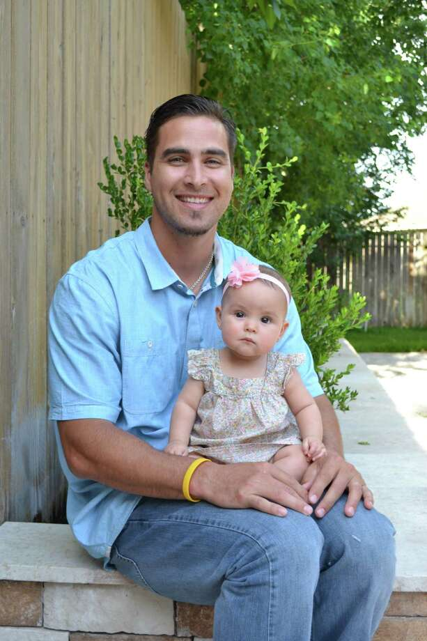 Meet Houston's Hottest Dad 2014, David.Keep clicking to check out our top 20 hot dad finalists.  Photo: Reader Submission