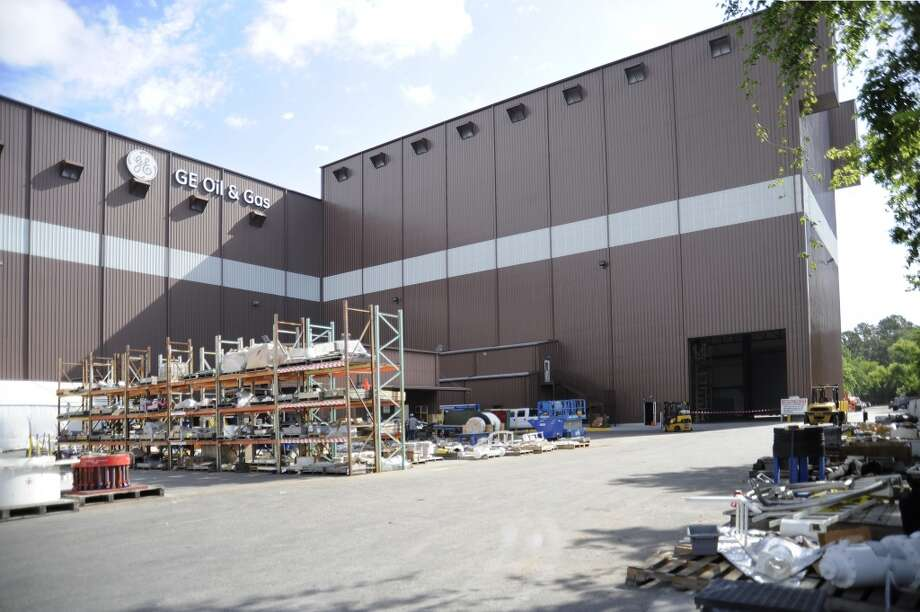 GE Oil & Gas recently completed expansion of its Deepwater Assembly facility at its Houston Technology Center in North Houston. The new facility enables GE to accommodate the taller, heavier BOP stacks that will be developed for deep-water 20,000 psi drilling operations. Photo: GE Oil & Gas