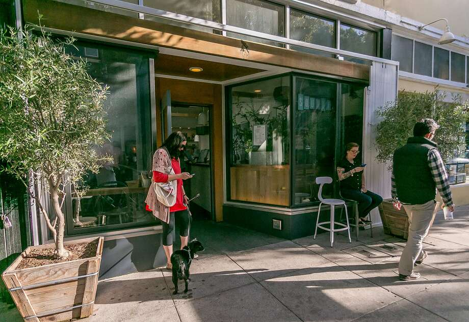 Souvla in Hayes Valley is working on a second outpost in the city, this time on Divisadero. Photo: John Storey, Special To The Chronicle