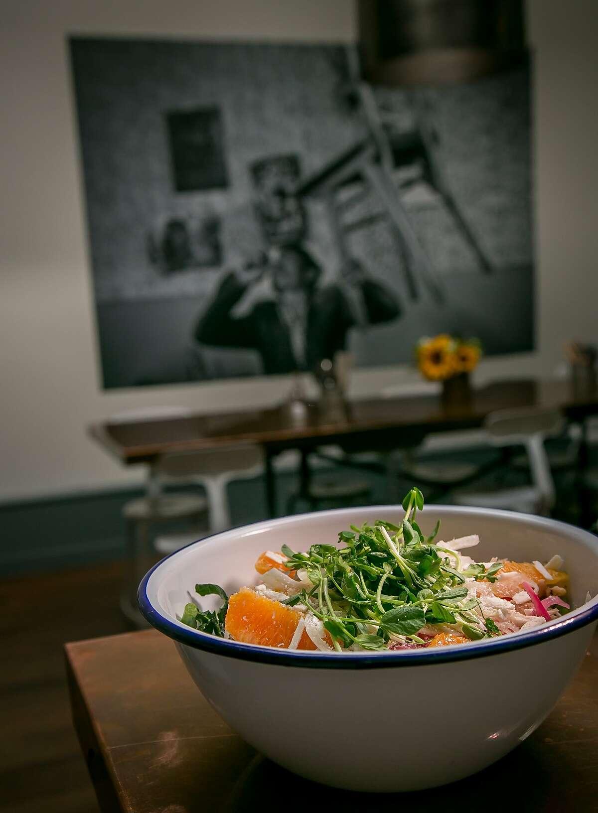 Chicken salad at Souvla in San Francisco.