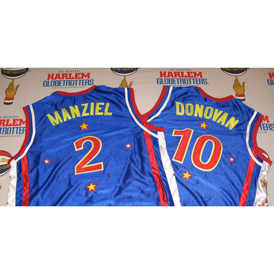 Johnny Manziel and Landon Donovan were drafted by the Harlem Globetrotters today. Photo: Courtesy Of The Harlem Globetrotters