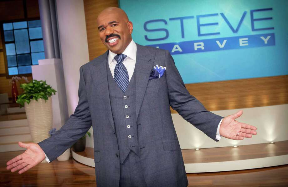 "The ""Steve Harvey"" show was honored as outstanding informative talk show, while Harvey won a Daytime Emmy as best game show host for ""Family Feud."" Photo: Chuck Hodes, Contributor / 2012 NBCUniversal Media, LLC"