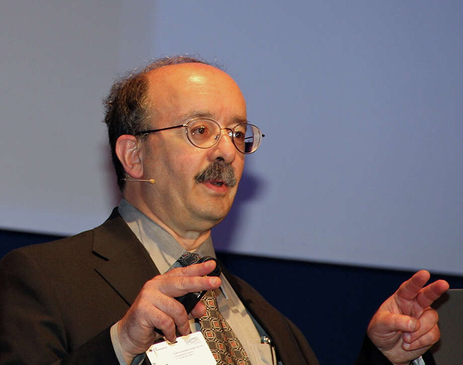 The Colorado-based sustainability think-tank Rocky Mountain Institute (RMI) believes the U.S. already has the technologies to help foster a rapid evolution of its electricity system, but it still needs the political and institutional will to make it happen. Above, RMI founder Amory Lovins speaking at an energy summit in Berlin, Germany in 2013. Photo: Contributed Photo, Contributed / New Canaan News Contributed