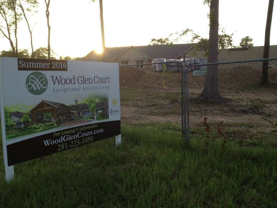 Wood Glen Court Assisted Living facility at 5000 Cypresswood Drive is expected to open in August 2014. Photo: Howard Decker