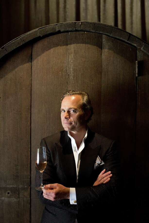 """""""It's an absolute emotional pursuit,"""" Jean-Charles Boisset says of his efforts to revive the historical Buena Vista Winery since taking ownership three years ago. Photo: Jason Henry, Contributor / ONLINE_YES"""