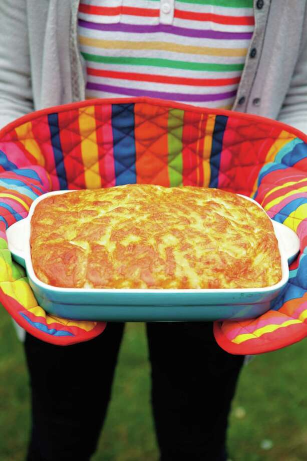 Easy Cheesy Souffle from Ella's Kitchen, the Big Baking Book