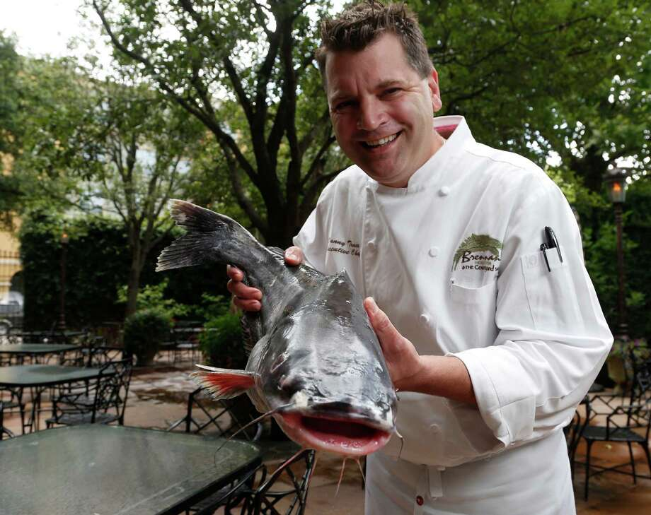 """(National) Catfish Day is right up our alley,"" says Danny Trace of Brennan's Houston. ""I love catfish. It's a very Southern thing."" Photo: Karen Warren, Staff / © 2014 Houston Chronicle"