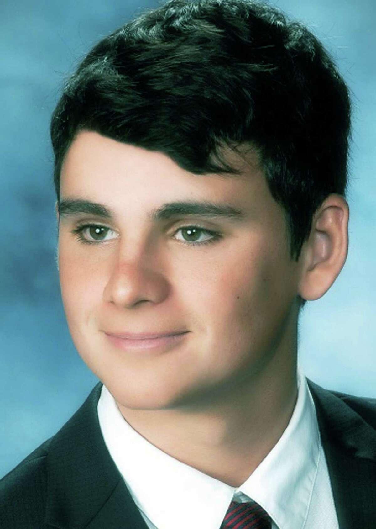 Nevan Swanson, salutatorian for the New Milford High School Class of 2014.