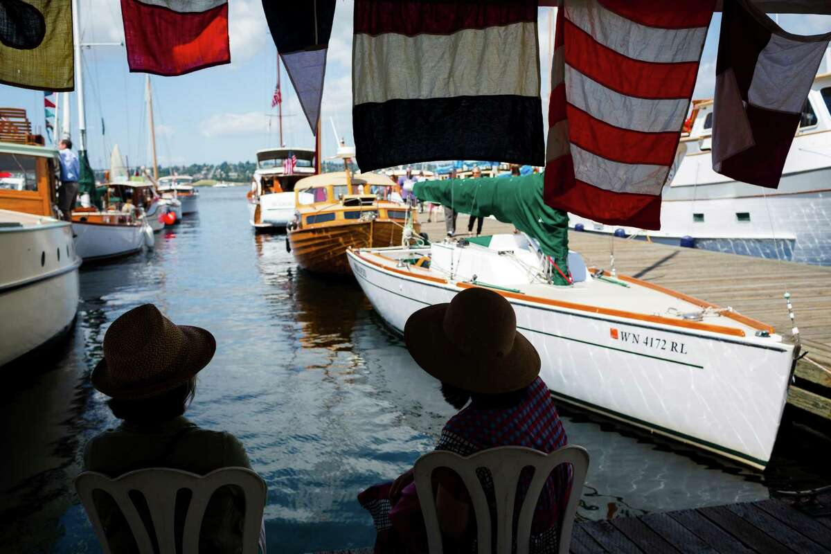 Lake Union Wooden Boat Festival : July 4 to 6