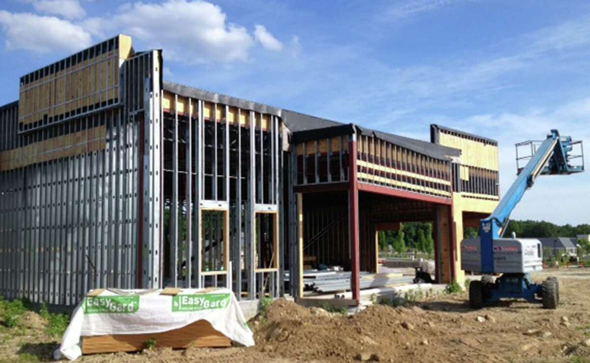 After several false starts, Panera Bread is nearing completion of its store in the Litchfield Crossings shopping plaza along Danbury Road (Route 7 South) in New Milford. June 2014