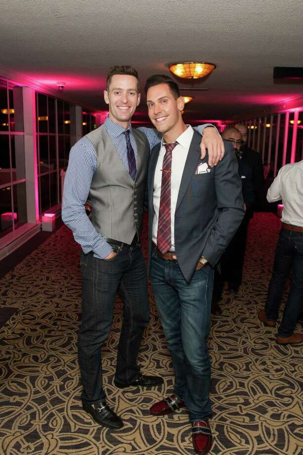 Kip Glass and David Rak at the 7th Annual Pride Kick-Off Party on June 20, 2014. Photo: Drew Altizer Photography/SFWIRE, Drew Altizer Photography / © 2014 Drew Altizer