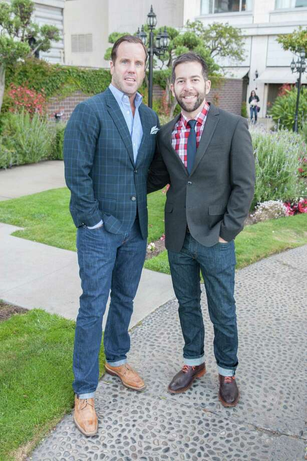 Tom Durein and Jared Scherer at the 7th Annual Pride Kick-Off Party on June 20, 2014. Photo: Drew Altizer Photography/SFWIRE, Drew Altizer Photography / © 2014 Drew Altizer