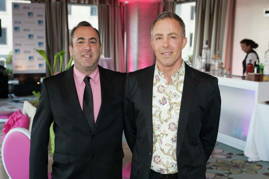 Roberto Friedman and George Stewart at the 7th Annual Pride Kick-Off Party on June 20, 2014. Photo: Drew Altizer Photography/SFWIRE, Drew Altizer Photography / © 2014 Drew Altizer