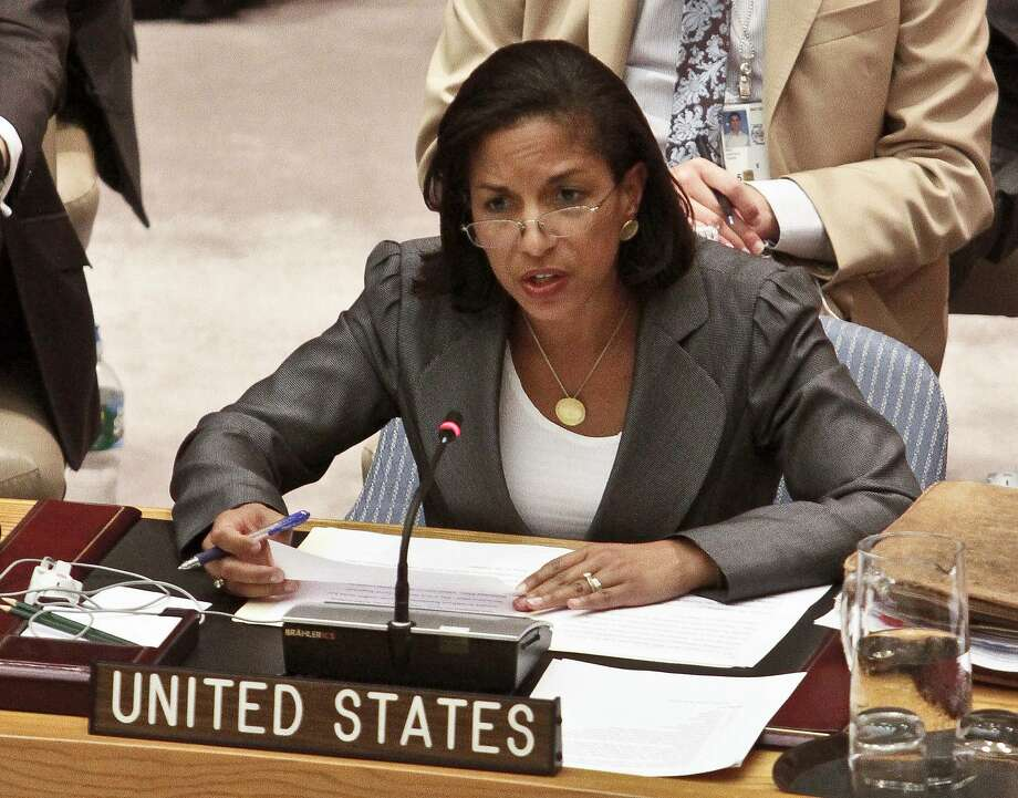 National Security Adviser Susan Rice Photo: Bebeto Matthews, Associated Press