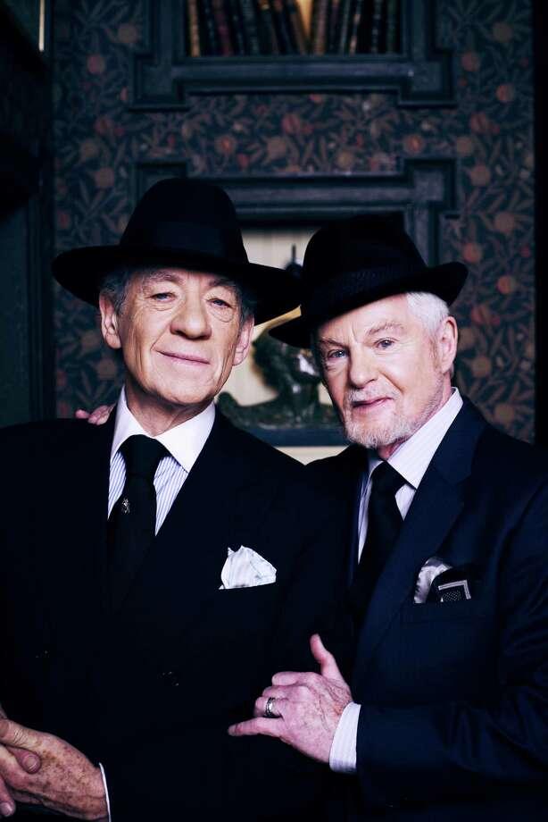 "Ian McKellen as Freddie and Derek Jacobi as Stuart in new PBS sitcom, ""Vicious"""