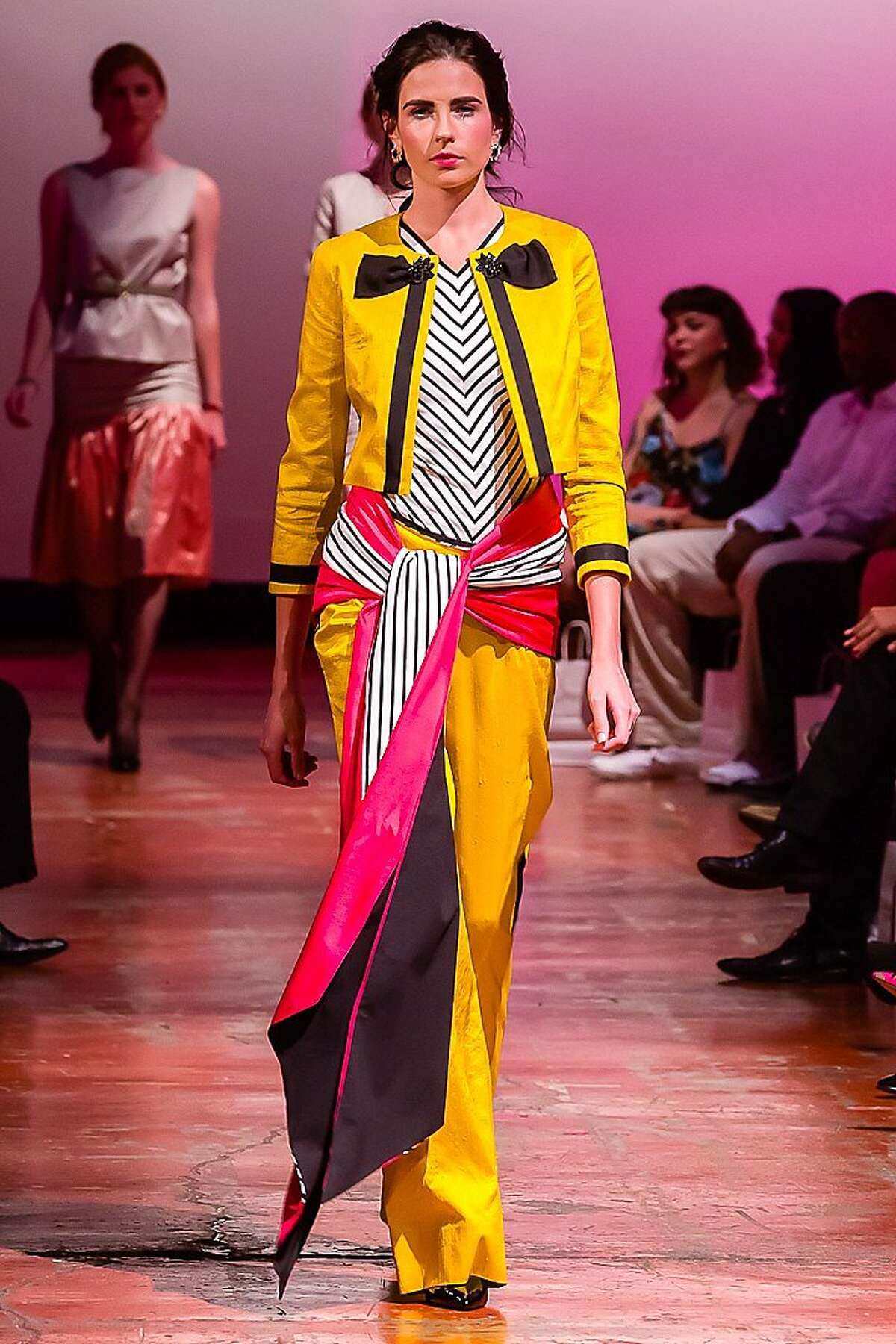 A design by Lauren Barisic at the Art Institute of California - San Francisco's annual fashion show June 14.