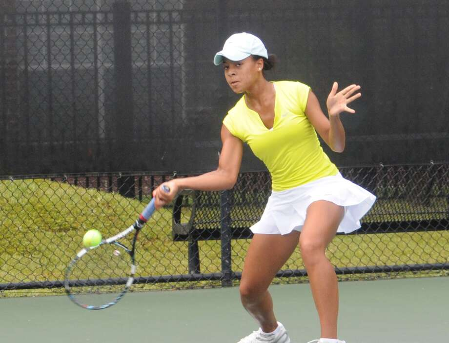 St. Agnes tennis player Racquel Lyn. Racquel is a junior at St. Agnes, two-time state champion and is No.1 in the state in super championship 18s. / Freelance
