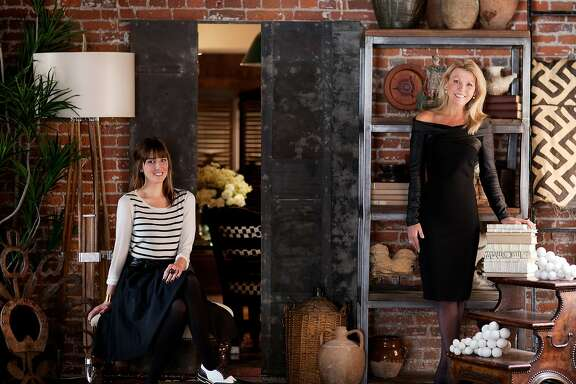 With offices in both San Francisco and the Lake Tahoe area, designer Catherine Macfee of Catherine Macfee Interior Design creates stylish spaces for clients with coastal and mountain homes. Now Catherine (right) and her daughter and business partner Justine have collaborated with the online furnishings and decor site Chairish for a special collection of their hand-picked favorite finds for the home.