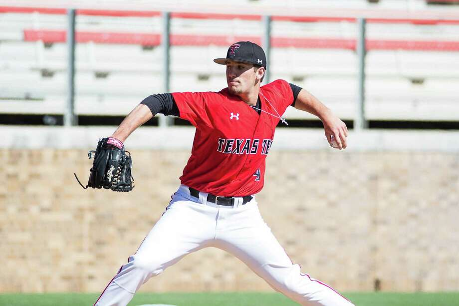 Kempner graduate Dylan Dusek was a key player for Texas Tech, which secured a berth in its first College World Series this season. Photo: Courtesy Texas Tech / handout