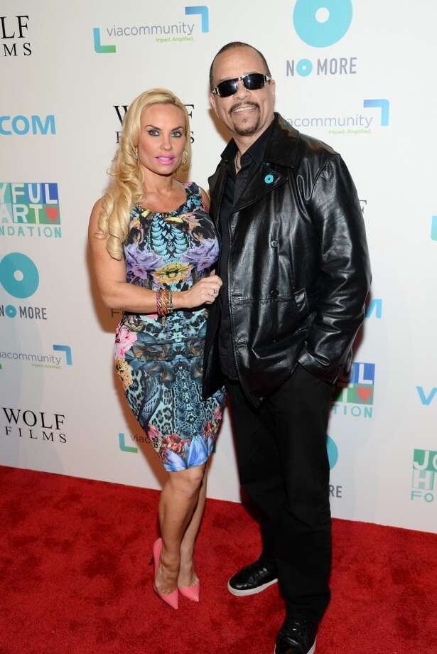 "Nicole ""Coco"" Austin and Ice-T attend the Joyful Revolution Gala to benefit the Joyful Heart Foundation at Cipriani 42nd Street on Thursday, May 29, 2014, in New York. (Photo by Evan Agostini/Invision/AP) Photo: Evan Agostini, Associated Press"
