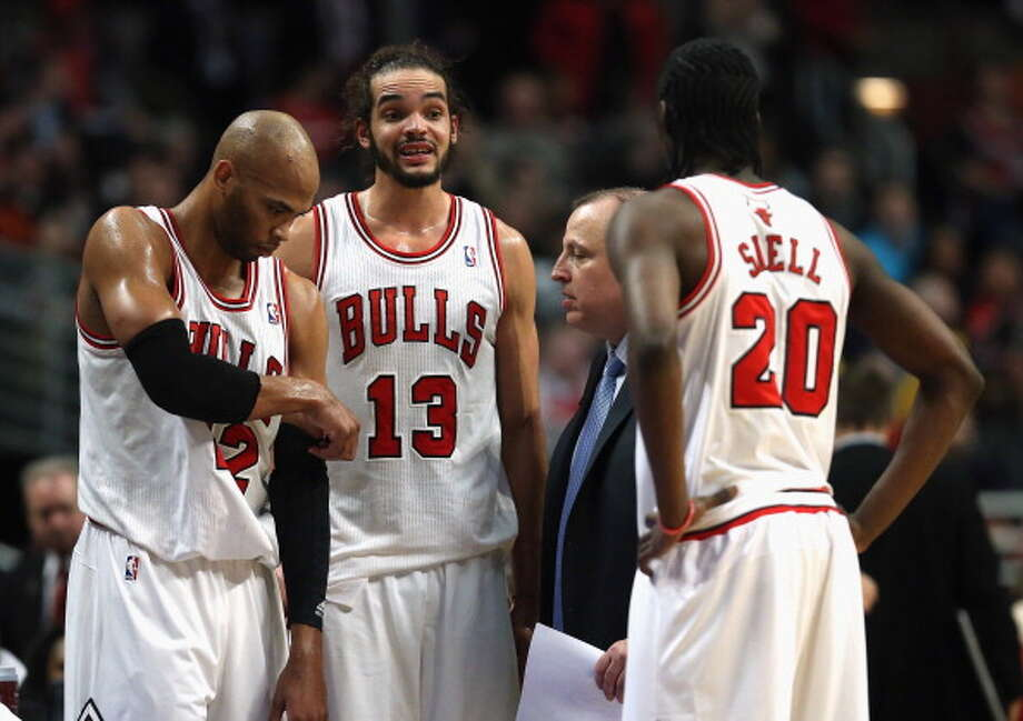 ChicagoThe Bulls made a good pitch in 2010 for LeBron and can have money for a big-time addition. Photo: Jonathan Daniel, Getty Images / 2014 Getty Images