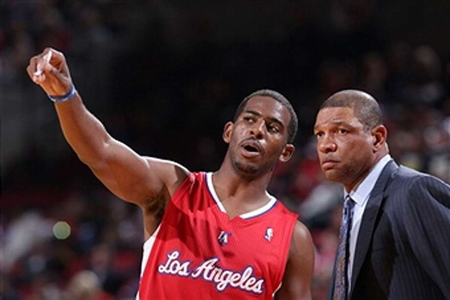L.A. Clippers  Playing with Chris Paul and for Doc Rivers are attractive but Clips need to get cap room. Photo: Sam Forencich, NBAE Via Getty Images