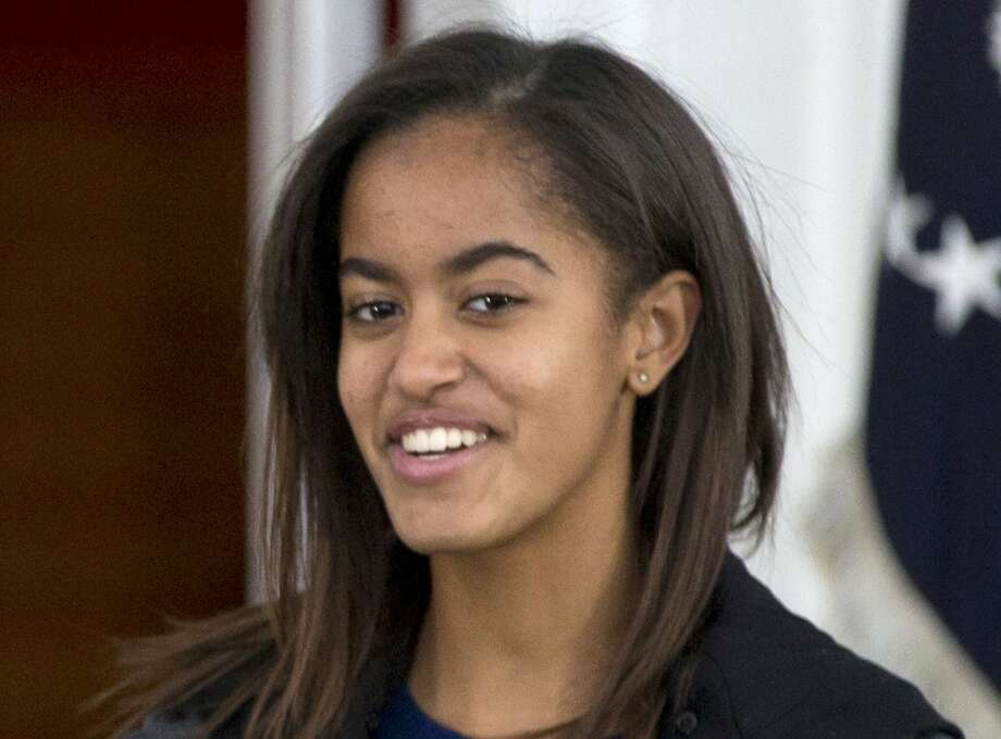 President Obama's older daughter, Malia, 15, was seen touring UC Berkeley with friends. Photo: Carolyn Kaster, Associated Press
